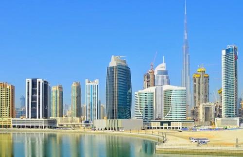 Skyline Dubai Stadt