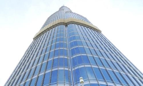 Außenansicht Burj Khalifa Dubai